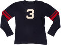 Football Collectibles:Uniforms, 1931-33 Kirk Haynes Game Worn Ole Miss Rebels Football Jersey. ...