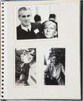 Football Collectibles:Others, 1940's Johnny Blood McNally Personal Photograph Album (24 Original Photographs, Etc)....