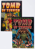 Golden Age (1938-1955):Horror, Tomb of Terror #1 and 4 File Copy Group (Harvey, 1952) Condition:Average FN+.... (Total: 2 Comic Books)