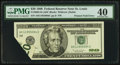 Error Notes:Foldovers, Fr. 2083-H $20 1996 Federal Reserve Note. PMG Extremely Fine 40.....