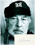 Autographs:Celebrities, John Houseman Autograph. ...