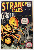 Silver Age (1956-1969):Horror, Strange Tales #73 (Marvel, 1960) Condition: VG/FN....