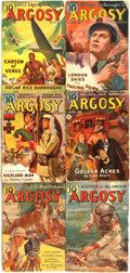 Books:Pulps, [Pulps]. Edgar Rice Burroughs. Complete Six Part Serialization ofthe Burroughs Story Carson of Venus. Argosy ...