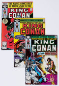Modern Age (1980-Present):Science Fiction, King Conan #1-12 Multiple Copies Group of 60 (Marvel, 1980-82)Condition: Average VF/NM.... (Total: 60 Comic Books)