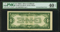 Error Notes:Inverted Reverses, Fr. 1601 $1 1928A Silver Certificate. PMG Extremely Fine 40 EPQ.....