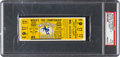 Football Collectibles:Tickets, 1959 NFL Championship Game Colts Vs. Giants Full Ticket PSA VG-EX 4 - Yellow Variation. ...