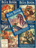 Books:Pulps, [Pulps]. Edgar Rice Burroughs. Complete Five Part Serialization ofthe Burroughs Story The Land of Hidden Men, Lat...