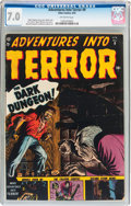 Golden Age (1938-1955):Horror, Adventures Into Terror #9 (Atlas, 1952) CGC FN/VF 7.0 Off-whitepages....