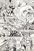 Original Comic Art:Panel Pages, Gil Kane and Frank Giacoia Amazing Spider-Man #105 Page 5Original Art (Marvel, 1972)....