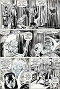 Original Comic Art:Panel Pages, John Romita Sr. and Tony Mortellaro Amazing Spider-Man #109Page 10 Doctor Strange Original Art (Marvel, 1972)....