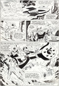 Original Comic Art:Panel Pages, Don Heck and Mike Esposito (as Mickey Demeo) Tales ofSuspense #66 Story Page 5 Iron Man Original Art (Marvel, 196...