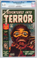 Golden Age (1938-1955):Horror, Adventures Into Terror #22 (Atlas, 1953) CGC FN 6.0 Off-whitepages....