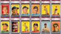 Baseball Cards:Lots, 1958 Topps Baseball PSA Graded Collection (158). ...