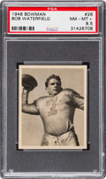 Football Cards:Singles (Pre-1950), 1948 Bowman Bob Waterfield #26 PSA NM-MT+ 8.5....
