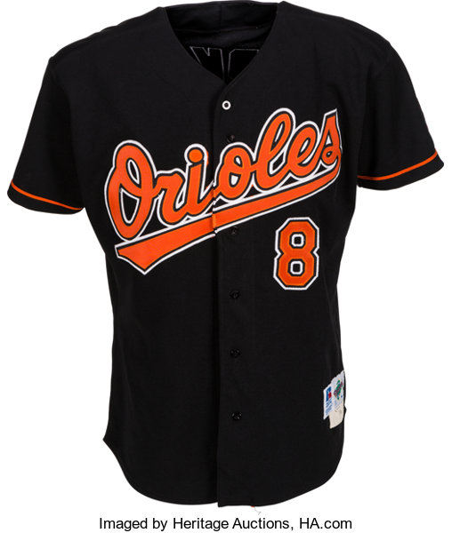 fdbb8dd87 1995 Cal Ripken Jr. Game Worn Baltimore Orioles Jersey. ...