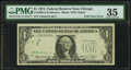 Error Notes:Foldovers, Fr. 1908-G $1 1974 Federal Reserve Note. PMG Choice Very Fine 35.....