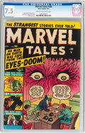 Golden Age (1938-1955):Horror, Marvel Tales #100 (Atlas, 1951) CGC VF- 7.5 Cream to off-whitepages....