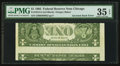 Error Notes:Inverted Reverses, Fr. 1913-G $1 1985 Federal Reserve Note. PMG Choice Very Fine 35EPQ.. ...