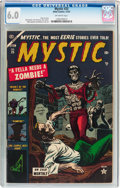 Golden Age (1938-1955):Horror, Mystic #25 (Atlas, 1953) CGC FN 6.0 Off-white pages....