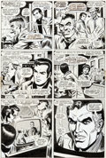 Original Comic Art:Panel Pages, John Romita Sr. and Jim Mooney Spectacular Spider-ManMagazine #1 and Amazing Spider-Man #116 Story Pa...