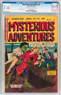 Golden Age (1938-1955):Horror, Mysterious Adventures #4 (Story Comics, 1951) CGC FN/VF 7.0Off-white to white pages....