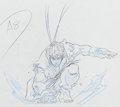 Animation Art:Production Drawing, Street Fighter Zero Ryu Anime Animation Drawings andPreliminary Drawings Group of 47 (Group TAC, 2000). ... (Total: 47Original Art)