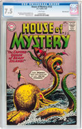 Silver Age (1956-1969):Mystery, House of Mystery #133 White Mountain Pedigree (DC, 1963) CGC VF-7.5 White pages....