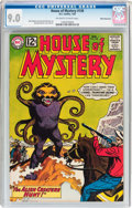 Silver Age (1956-1969):Horror, House of Mystery #130 White Mountain Pedigree (DC, 1963) CGC VF/NM9.0 Off-white to white pages....