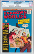 Silver Age (1956-1969):Science Fiction, Unknown Worlds #13 White Mountain Pedigree (ACG, 1962) CGC NM- 9.2White pages....