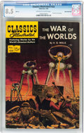 Golden Age (1938-1955):Science Fiction, Classics Illustrated #124 The War of the Worlds - HRN 131 - WhiteMountain Pedigree (Gilberton, 1955) CGC VF+ 8.5 Off-white to...