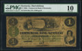 Obsoletes By State:Kentucky, Paducah, KY- Commercial Bank of Kentucky at Harrodsburg Branch $1 Oct. 4, 1860 G46a Hughes 668. ...