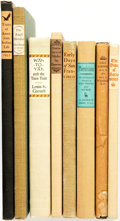 Books:Americana & American History, [Grabhorn Press]. [Americana]. Group of Eight LIMITED Editions. TheGrabhorn Press, [various dates].... (Total: 8 Items)