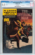 Silver Age (1956-1969):Horror, Classics Illustrated #153 The Invisible Man - HRN 149 - White Mountain Pedigree (Gilberton, 1959) CGC VF 8.0 White pages....
