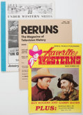 Magazines:Adventure, Assorted Western Fanzines Box Lot (Various Publishers, 1980s) Condition: Average VF/NM....