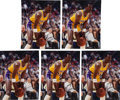 Basketball Collectibles:Photos, 2000's Michael Cooper Signed Photographs Lot of 53. ...