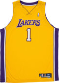 Basketball Collectibles:Uniforms, 2004-05 Caron Butler Game Worn Los Angeles Lakers Jersey. ...