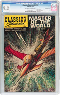 Silver Age (1956-1969):Classics Illustrated, Classics Illustrated #163 Master of the World - First Edition -White Mountain Pedigree (Gilberton, 1961) CGC NM- 9.2 Off-whit...