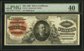 Large Size:Silver Certificates, Fr. 313 $20 1886 Silver Certificate PMG Extremely Fine 40.. ...