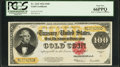 Large Size:Gold Certificates, Fr. 1215 $100 1922 Gold Certificate PCGS Gem New 66PPQ.. ...