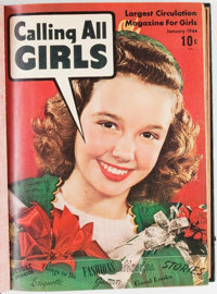 Calling All Girls Bound Volumes (Parents' Magazine Institute, 1944-48).... (Total: 3 Items)