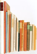 Books:World History, [Grabhorn Press]. Collection of Twenty Titles. San Francisco:Grabhorn Press, 1936 - 1940.... (Total: 20 )