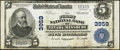 National Bank Notes:Missouri, Nevada, MO - $5 1902 Plain Back Fr. 600 The First NB Ch. # 3959....