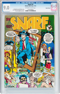 Snarf #3 Haight-Ashbury Pedigree (Kitchen Sink, 1972) CGC VF/NM 9.0 Off-white to white pages
