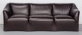 Furniture : Continental, Mario Bellini (Italian, b. 1935). Tentazione Sofa, 1973. Leather over wood frame, foam. 30-1/2 x 89 x 31 inches (77.5 x ...