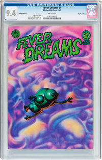Fever Dreams #1 Haight-Ashbury Pedigree (Kitchen Sink, 1972) CGC NM 9.4 White pages