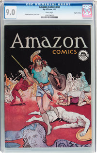 Amazon Comics #nn Haight-Ashbury Pedigree (Rip Off Press, 1972) CGC VF/NM 9.0 White pages