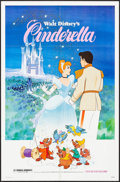"Movie Posters:Animation, Cinderella & Other Lot (Buena Vista, R-1981). One Sheets (2)(27"" X 41""). Animation.. ... (Total: 2 Items)"