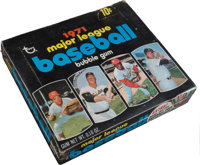 1971 Topps Baseball 4th Series Wax Box With 24 Unopened Packs