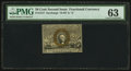 Fractional Currency:Second Issue, Fr. 1317 50¢ Second Issue PMG Choice Uncirculated 63.. ...