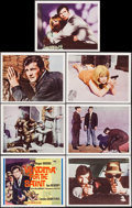 "Movie Posters:Mystery, Vendetta for the Saint (MGM, 1969). International Title Lobby Card& Lobby Cards (6) (11"" X 14""). Mystery.. ... (Total: 7 Items)"